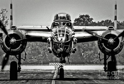 B-25 Mitchell Original by Dieter  Lesche