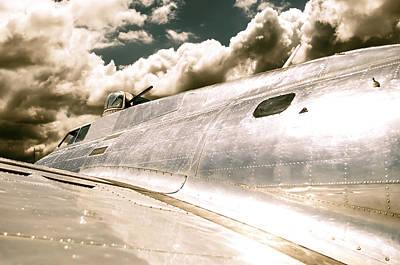 B25 Photograph - B-25 Warbird by Carter Jones