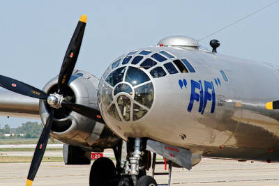 Photograph - B-29 Bomber Fifi by Corey Haynes