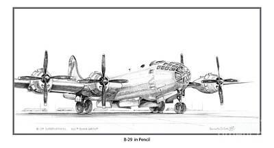 B-29 Art Print
