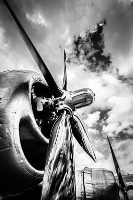 Plane Photograph - B 29 Superfortress Propellers  by Puget  Exposure