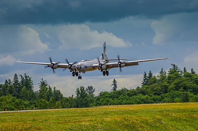 B-29 Superfortress  Art Print by Puget  Exposure