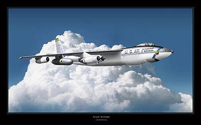 B-47 Stratofortress Art Print by Larry McManus