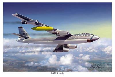 B-47e Stratojet Art Print by Mark Karvon