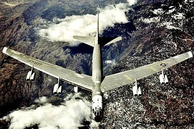 Photograph - B 52 by Benjamin Yeager