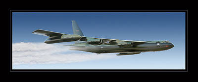 Photograph - B-52 Stratofortress by Larry McManus