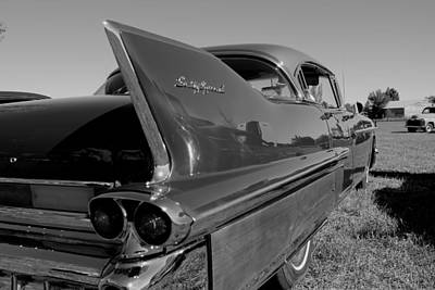Photograph - B And W Fleetwood by Trent Mallett