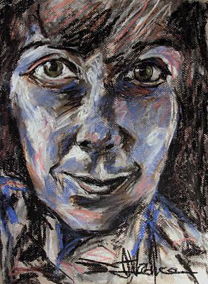 Painting - B. Braman Portrait  by Jim Vance