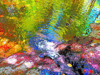 Photograph - B Childs Brook 67 by George Ramos
