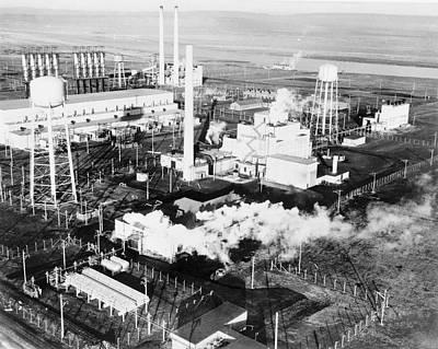 B Reactor Art Print