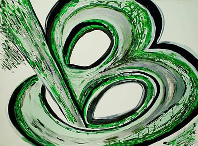 B U-nique Art Print