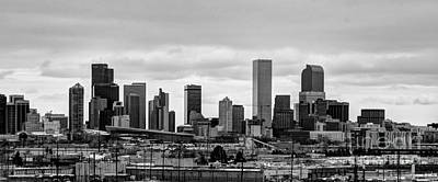 Photograph - B-w Denver by Steven Parker