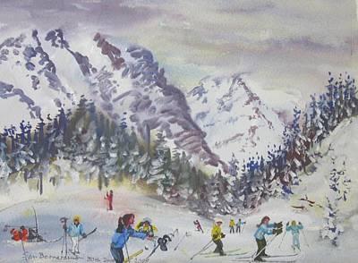 Painting - B04. San Bernadino Ch by Les Melton