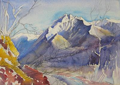 Painting - B05. Ticino Ch by Les Melton