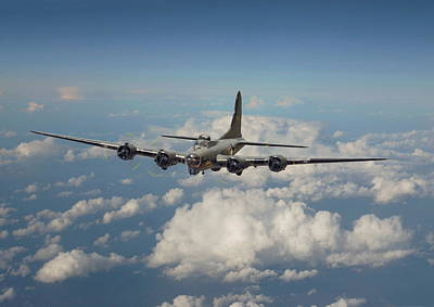B17 Photograph - B17- 8th Air Force Workhorse by Pat Speirs