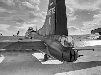 Guns Photograph - B17 Texas Raiders V5c by John Straton