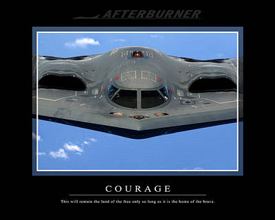 Photograph - B2 Courage by Ahp