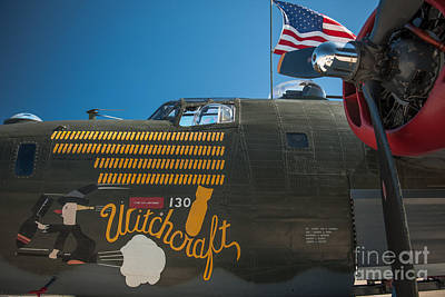 Photograph - B24 Liberator by Dale Powell