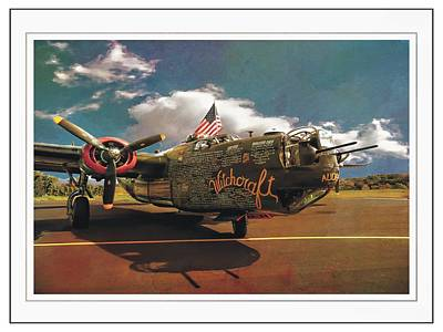 Photograph - B-24 Witchcraft by Joe Duket