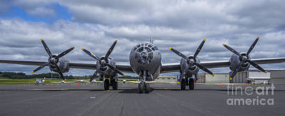 Photograph - B29  Superfortress by Steven Ralser