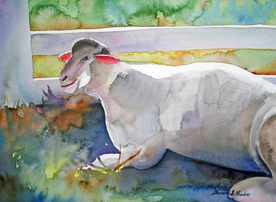 Painting - Baa by Shirin Shahram Badie