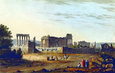 Helios Photograph - Baalbek Aka Heliopolis, 1835 by British Library