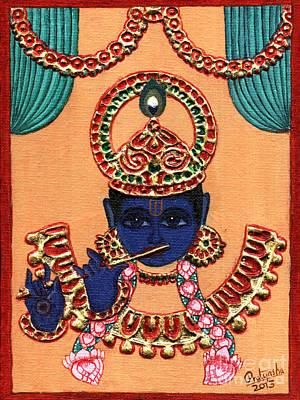 Baansuri Krishna Art Print