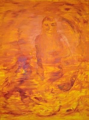 Painting - Baba Anne by Gunter  Tanzerel