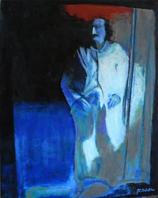 Meher Baba Painting - Baba Vision by Joe DiSabatino