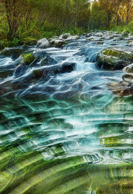 Photograph - Babbling Brook by Robert Roland