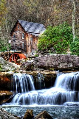 Photograph - Babcock Grist Mill by Mark Bowmer