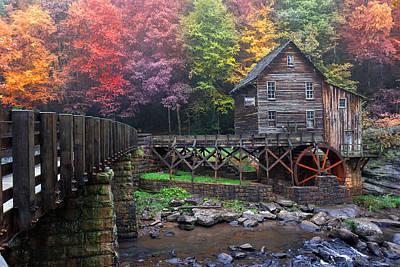 Photograph - Babcock In Autumn Splendor by Mary Almond