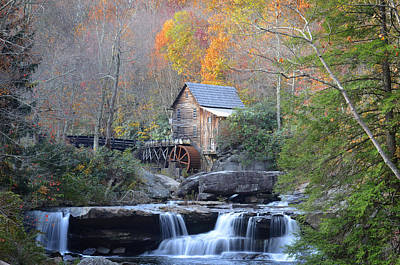 Babcock State Park Mill Art Print