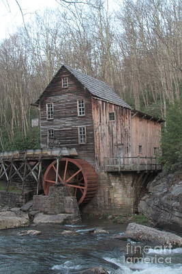 Babcock Watermill Art Print by Dwight Cook