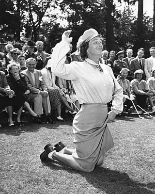 Photograph - Babe Didrikson Zaharias by Underwood Archives