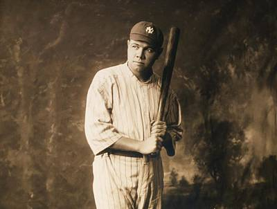 Photograph - Babe Ruth - The Sultan Of Swat by Roberto Prusso