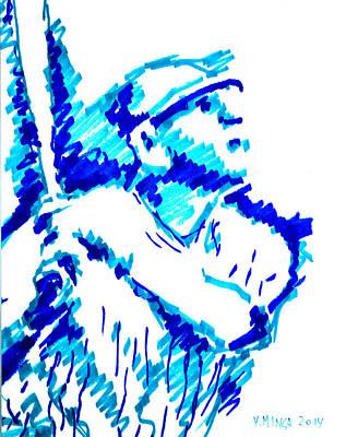 Babe Ruth Original by Victor Minca