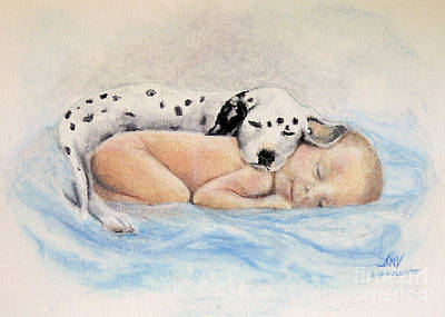 Painting - Babies  by Stella Violano