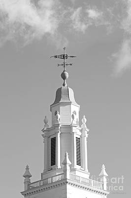Babson College Tomasso Hall Cupola Print by University Icons