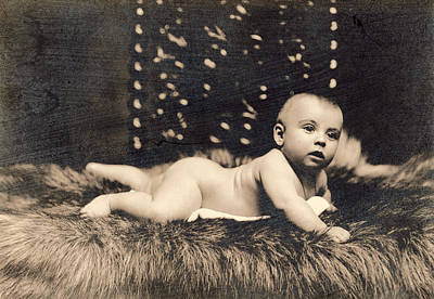 Photograph - Baby, 1900 by Granger