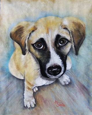 Painting - Baby Addie by Annamarie Sidella-Felts