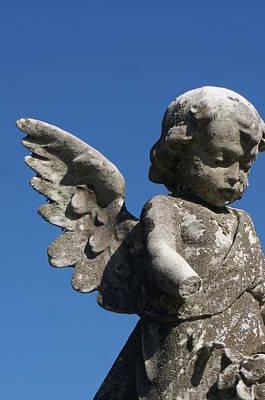 Baby Angel Art Print by Brian Jones