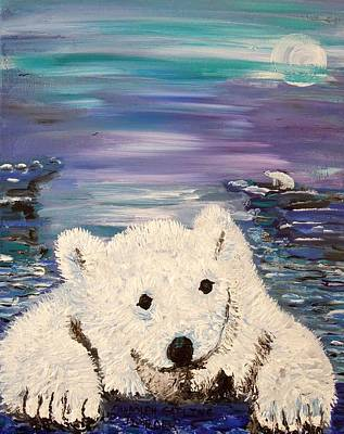 Painting - Baby Bear by Randolph Gatling