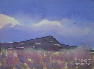 Painting - Baby Black Butte by Suzanne McKay