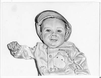 Baby Boy Jake Art Print by Barb Baker