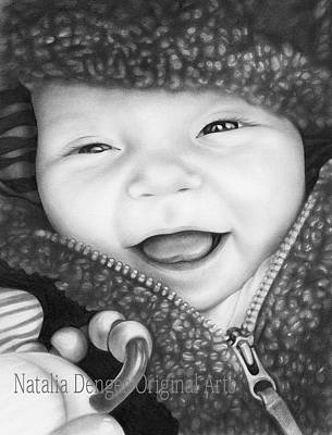 Drawing - Baby Boy by Natasha Denger