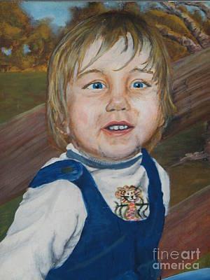 Painting - Baby Bro by Ronda Douglas