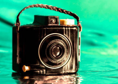 Vintage Camera Wall Art - Photograph - Baby Brownie Special by Jon Woodhams
