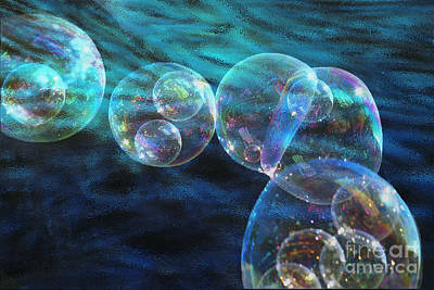 Photograph - Baby Bubbles by Nareeta Martin