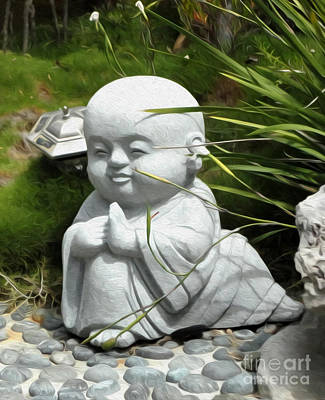 Photograph - Baby Buddha by Gregory Dyer